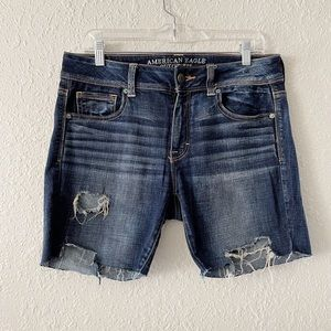 AEO Denim Jean Cut Off Shorts 10